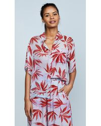 A Peace Treaty - Breton Button Cover Up - Lyst