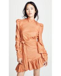 Zimmermann - Flounce Mini Dress - Lyst