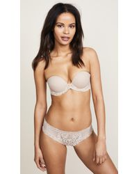 Natori - Feathers Strapless Plunge Multi Way Bra - Lyst
