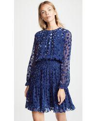 Shoshanna - Velvet Dress - Lyst