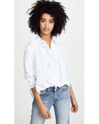 Nili Lotan - Mai Shirt - Lyst