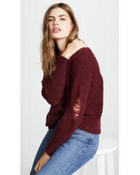 LNA - Wolf Alpaca Sweater - Lyst