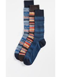 Missoni - Trio Socks Gift Box - Lyst