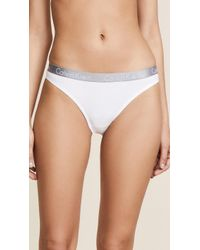 Calvin Klein - Radiant Cotton Thong - Lyst