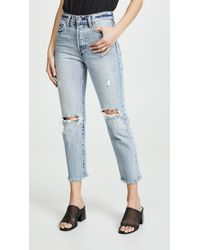 156807d649b Recently sold out. Levi s - Wedgie Selvedge Straight Jeans - Lyst