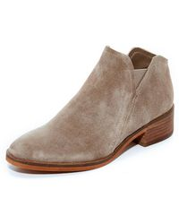 Dolce Vita - Tay Suede Booties - Lyst