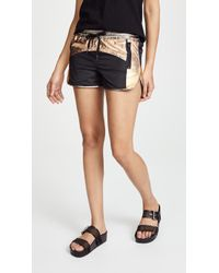 Pam & Gela - Colorblock Shorts - Lyst
