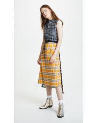 R13 - Apron Prairie Dress - Lyst