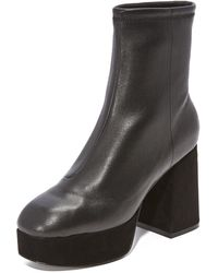 Opening Ceremony - Carmen Leather Boots - Lyst