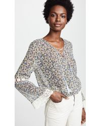 Cupcakes And Cashmere - Zilla Blouse - Lyst