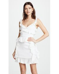 Cushnie et Ochs - Lala Sleeveless Mini Dress - Lyst
