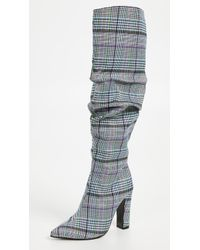 Jaggar - Fortune Check Boots - Lyst