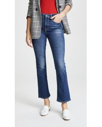 FRAME - Le Crop Mini Boot Jeans - Lyst