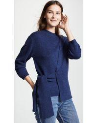 Brochu Walker - Albian Wrap Pullover - Lyst