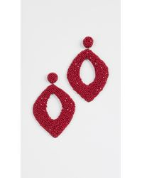 Deepa Gurnani | Erte By Kate Earrings | Lyst