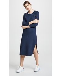 Sol Angeles - Vintage Jersey Sol Midi Dress - Lyst