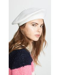 Hat Attack - Wool Beret Hat - Lyst