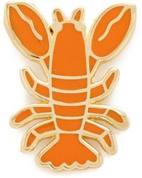 Georgia Perry - Lobster Lapel Pin - Lyst