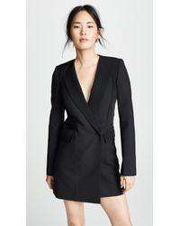 Dion Lee - Tuxedo Coat Dress - Lyst