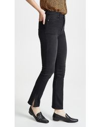 AO.LA by alice + olivia - High Rise Baby Boot Jeans - Lyst