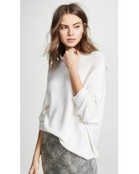 d6162924cb TSE - Asymmetrical Drape Cashmere Sweater - Lyst