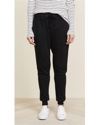 James Perse - Slouchy Joggers - Lyst