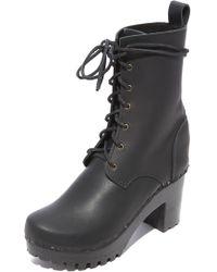 No. 6 - High Tread Combat Boots - Lyst