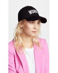 Kate Spade | Work It Baseball Cap | Lyst