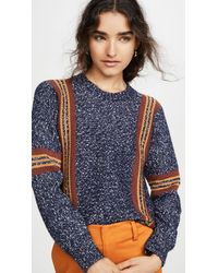 See By Chloé Striped Pullover