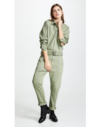 One Teaspoon - Super Khaki Utility Jumpsuit - Lyst