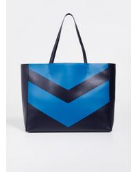 Tory Sport - Chevron East / West Tote - Lyst