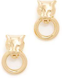 Soave Oro - Angelina Earrings - Lyst
