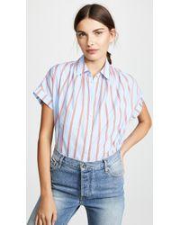 Madewell - Joey Stripe Central Shirt - Lyst