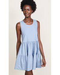 Riller & Fount - Bonnie Tiered Mini Dress - Lyst