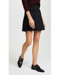 Susana Monaco - High Waisted Flare Skirt - Lyst