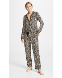 Pj Salvage - Give Love Cheetah Printed Pj Set - Lyst