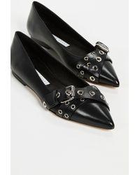 2fd2c385e7b2a Lyst - Gucci Maxine Suede Sandals in Natural