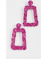 Sachin & Babi - Fleur Dusk Clip On Earrings - Lyst