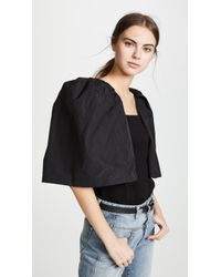 Toga Pulla - Waffle Jersey Top - Lyst
