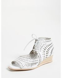 Jeffrey Campbell - Rodillo Wedge Sandals - Lyst