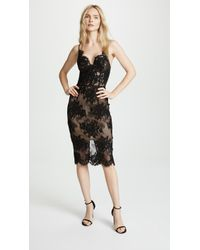 Misha Collection - Finley Lace Dress - Lyst