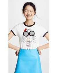 Alice + Olivia - Rylyn T-shirt - Lyst