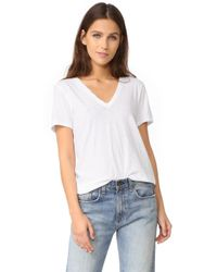 Rag & Bone - The Vee Tee - Lyst