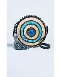 Rebecca Minkoff - Straw Circle Cross Body Bag - Lyst