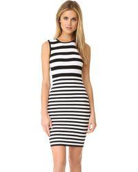 Ali & Jay - Textured Stripe Dress - Lyst