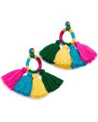 All Things Mochi - Moroccan Funfair Tassel Earrings - Lyst
