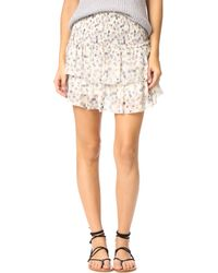 Anine Bing - Floral Skirt - Lyst