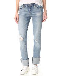 Blank - Lost & Found Cuffed Jeans - Lyst