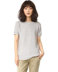 Chrldr - Noir Short Sleeve Sweatshirt - Lyst