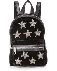 Cynthia Rowley - Knox Velvet Mini Backpack - Lyst